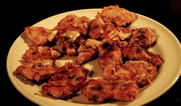Pollo en Costra de Parmigiano